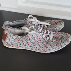 Converse All Star Low Top floral Sneakers